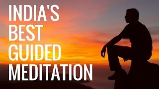 Before sleep guided meditation for beginners for anxiety in Hindi | Meditation for deep relaxation