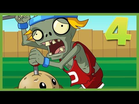 Plantas vs Zombies Animado Capitulo 4 ☀️ Animación  2017