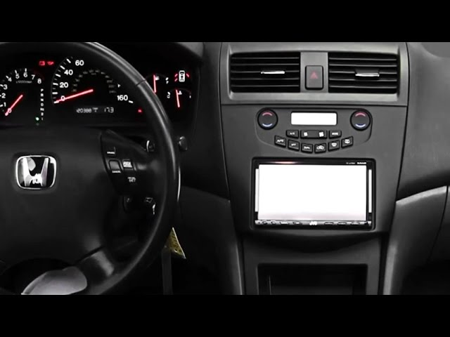 2004 honda accord stereo dash kit