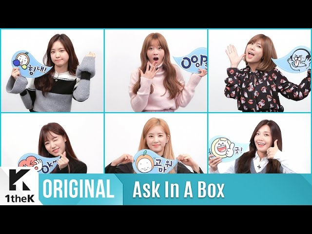 ASK IN A BOX: Apink(에이핑크) _ Cause you're my star(별의 별)