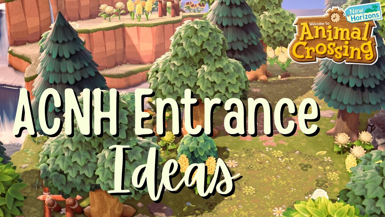 Download 15 Entrance Ideas for Your Island // Animal Crossing: New Horizons