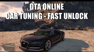 GTA Online - Быстрое Открытие Тюнинга [с Zazaza691]