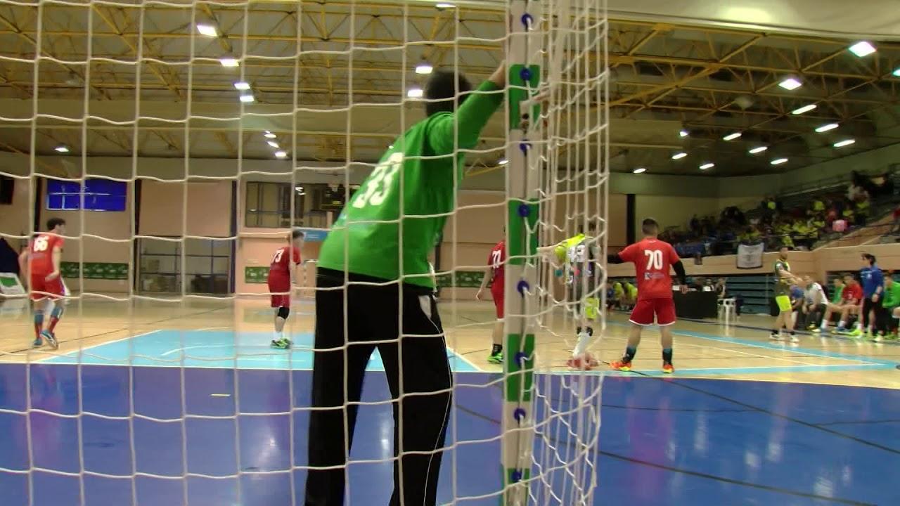 Jugadores del balonmano Ciudad de Algeciras están en los cuartos de final  del territorial