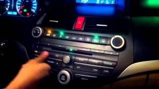 Honda Accord 8 Gen Diagnosis Audio