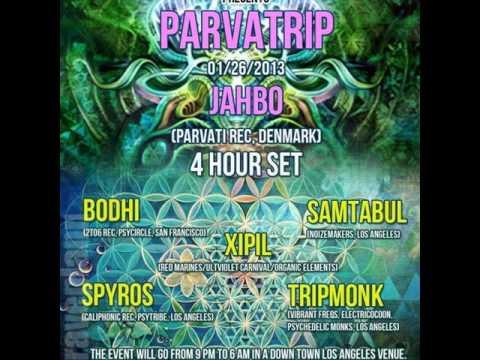 Dark psytrance PARVATRIP Los Angeles party DJ set