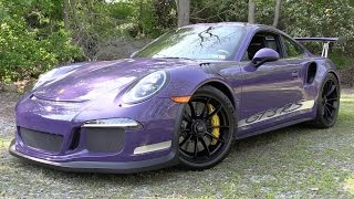2016 Porsche 911 GT3 RS - Start Up, Exhaust & In Depth Review