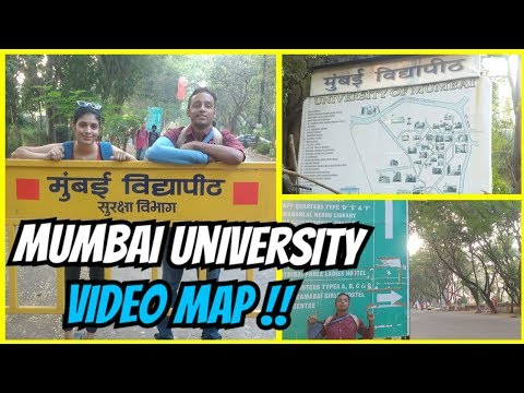 MUMBAI UNIVERSITY VIDEO MAP| kalina campus map| university of mumbai