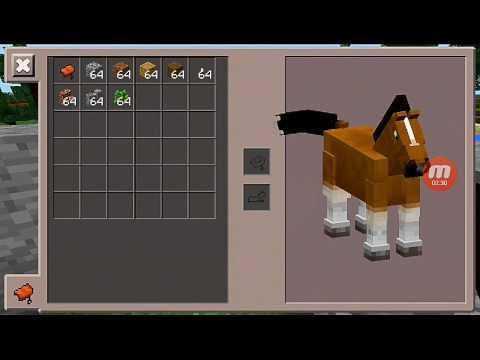 как на лошадь в майнкрафте надеть седло #8
