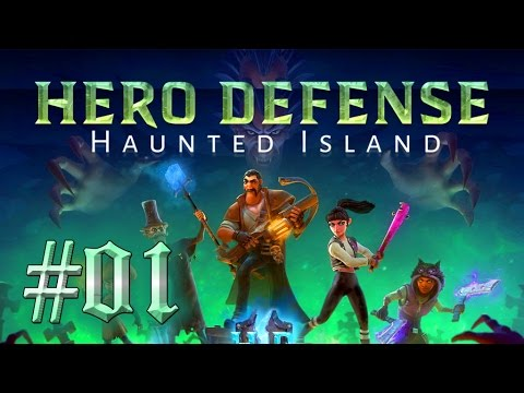 HERO DEFENSE: HAUNTED ISLAND [#01] ► Fünf Helden gegen das Böse [PC] Let's Play