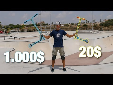 1000$ PRO SCOOTER VS 20$ SCOOTER