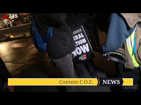 Yellow Vest Protest London UK 🔴Live | C.O.E' Broadcast