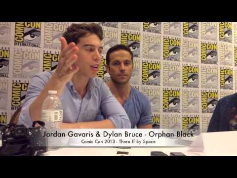 Comic Con : Orphan Black's Jordan Gavaris and Dylan Bruce Talk Clones
