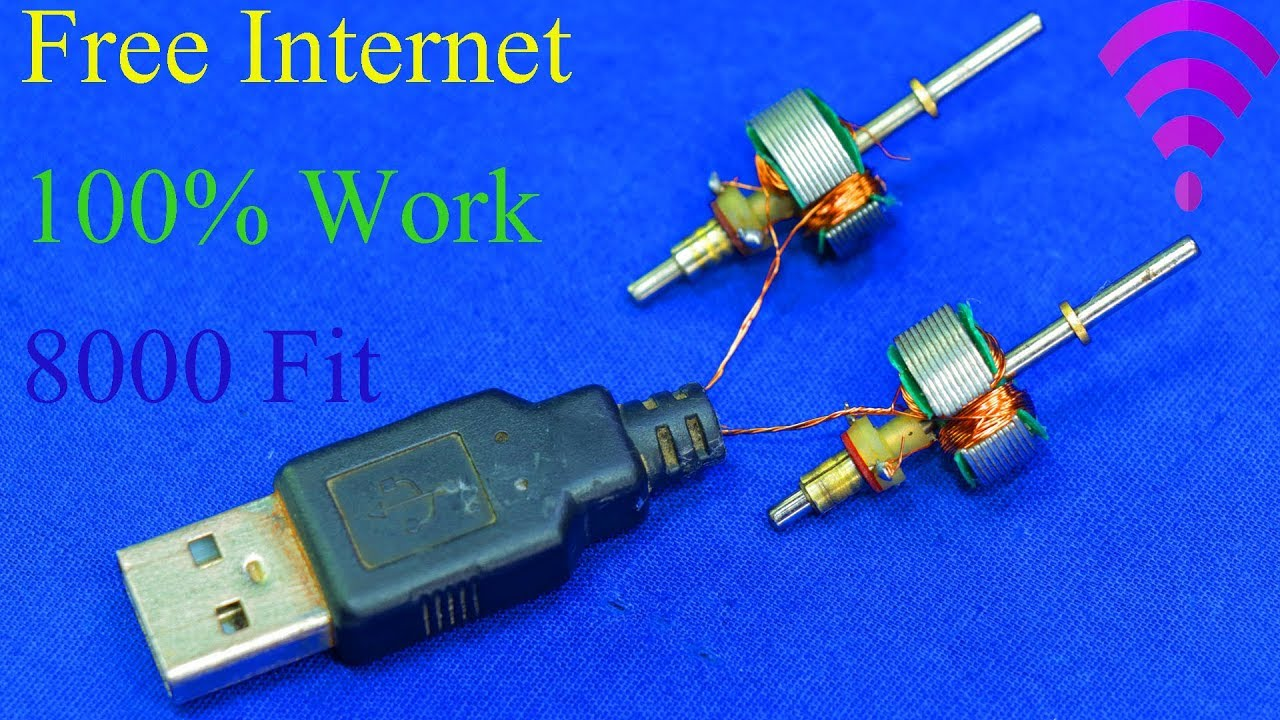 How to get free Internet / FREE INTERNET WiFi Strong Signal 8000 Fit on any  Phone you go 100% work