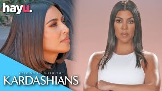 Kourtney Wants Kim & Khloé To Respect Her Boundaries! | Season 17 | Keeping Up With The Kardashians