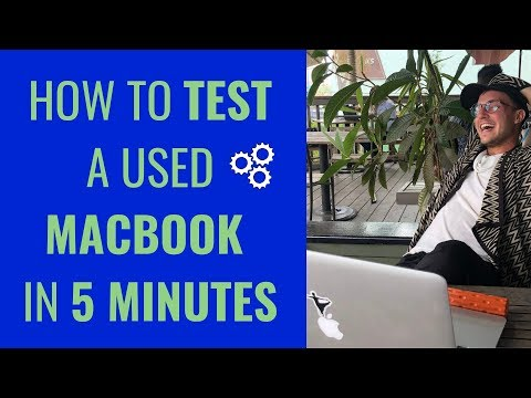 COMPLETE MACBOOK DIAGNOSTIC (How to Test Out a Used Macbook Before You Buy)