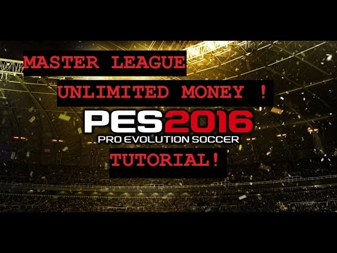 PES 2016 - Master League hack/unlimited money with Cheat Engine ...