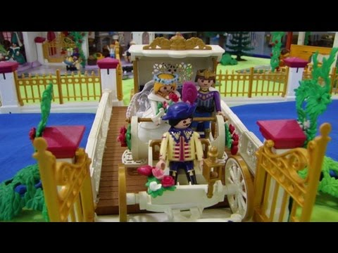 PLAYMOBIL CHATEAU princesse  YouTube