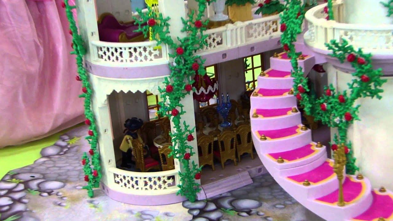Chateaux Playmobil Princesse : Playmobil chateau princesse youtube