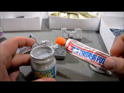 Tutorial: Building Gundam Resin Kits part 02
