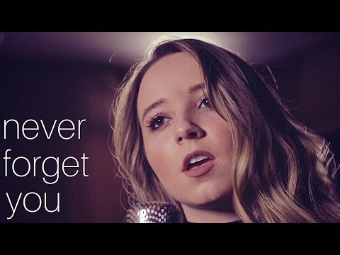 Never Forget You - Zara Larsson & MNEK | Ali Brustofski Cover (Music Video)