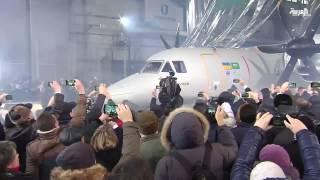 أول طائرة سعودية أوكرانية مخصصة للحرب الإلكترونية والاستطلاع.. شاهد