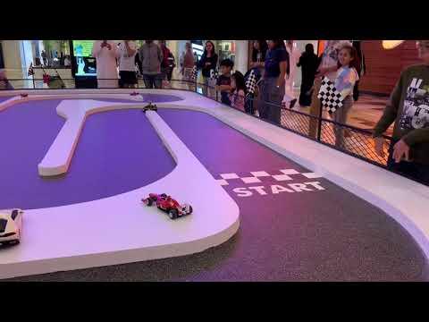 Playing F1 Race RC at Ferrari World Abu Dhabi | i Won the 2nd Place!!!