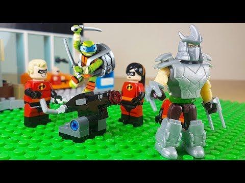 Leonardo delle Tartarughe Ninja cerca gli Incredibili [Una Famiglia di Supereroi ⚡ Ep. 5]