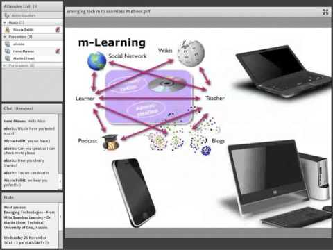 From M to Seamless learning - Dr. Martin Ebner