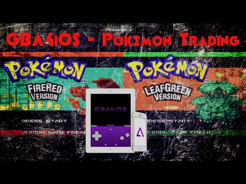 GBA4iOS 2 1] Wireless link setup + Pokémon trading (in Pokémon FR/LG
