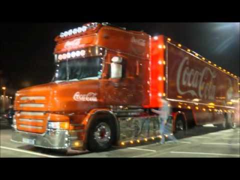 Coca Cola Scania T Cab Youtube