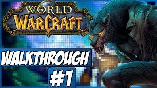 World Of Warcraft Walkthrough - Episode 1 - Character Creation!