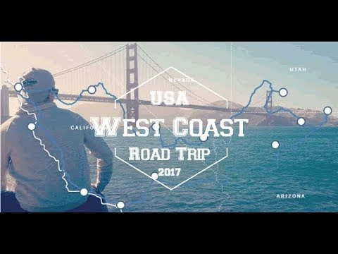 USA 2017 - West Coast Road Trip : San Francisco, Las Vegas, Monument Valley, Grand Canyon, LA