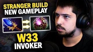 AFTER NOONE IS W33 CLASSIC INVOKER WITH STRANGER GAMEPLAY VS TROLL WARLORD MID - DOTA 2 INVOKER