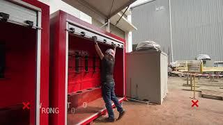 Fire Engine Shutter