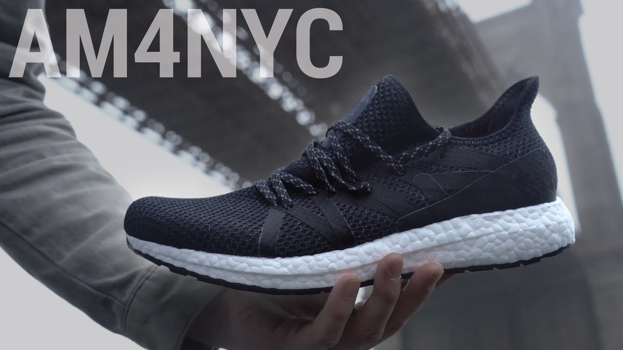 buy popular e8a8f 47153 ADIDAS INVITED ME TO CHECK OUT THEIR NEWEST SNEAKER!