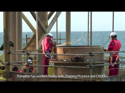 Primeline Energy natural gas delivery for China