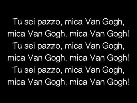 Caparezza - Tu sei PAZZO Mica Van Gogh !!