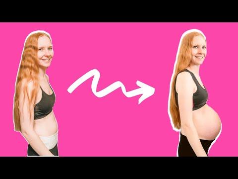 Twin Pregnancy Belly Week By Week + Symptoms & Ultrasounds