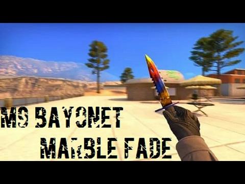 HD M9 Bayonet | Marble fade for cs 1 6