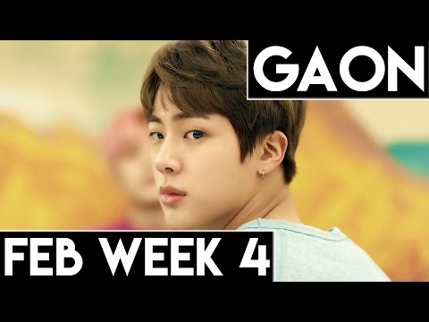 [TOP 100] Gaon Kpop Chart 2017 [Feb Week 4]
