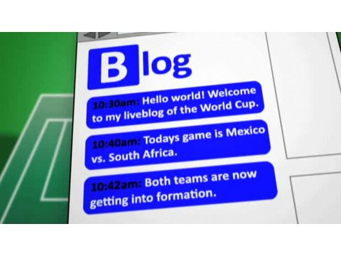 How to Liveblog