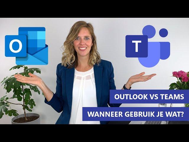 Betekent Microsoft Teams het einde van Outlook? | Outlook versus Teams tips