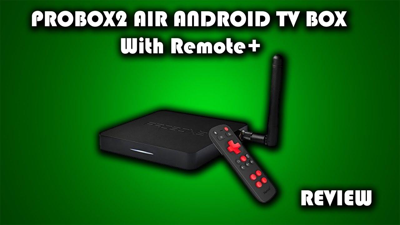 מעולה  PROBOX2 AIR Android TV Box with Remote+ Full Review - YouTube KX-72