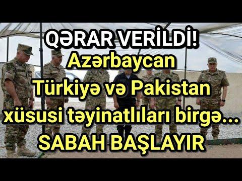 Azərbaycan Türkiyə və Pakistan xüsusi təyinatlıları birgə...- SABAH BAŞLAYIR