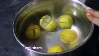 Natural dishwasher homemade in Telugu