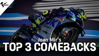 Joan Mir's Top 3 Comebacks in 2020