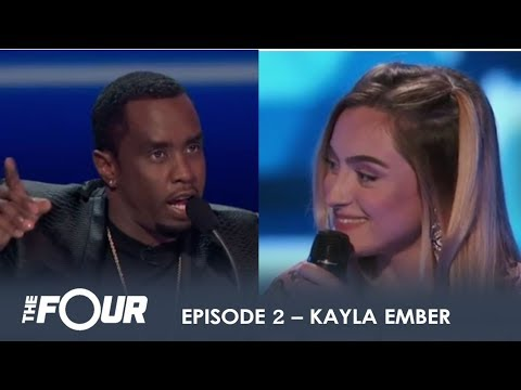 Kayla Ember: Calls Herself BAD B**TCH on LIVE TV & Diddy Is Lovin' It! | S1E2 | The Four