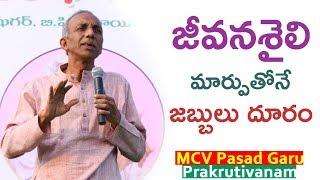 జీవనశైలి మార్పుతోనే జబ్బులు దూరం, Lifestyle,  MCV Prasad, CBIT, Proddutur YES TV