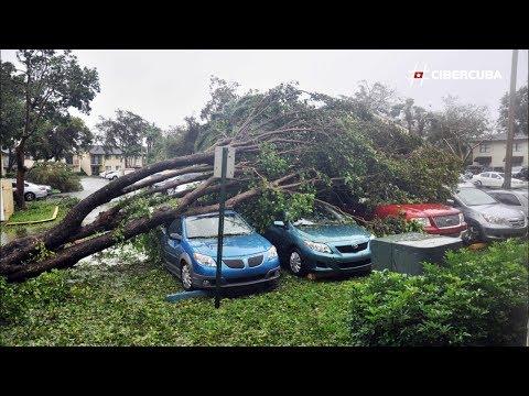 Primeras imágenes de Miami, Florida, después del paso del huracán Irma