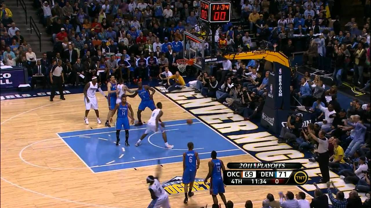 Nuggets vs thunder 2011 playoffs game 2 casino san diego 18 and up